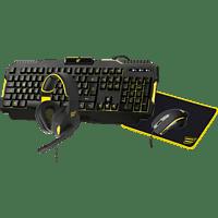 ISY Gaming Starter Set, schwarz/gelb (IPG-1000)