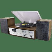 SOUNDMASTER PL880 RETRO Musikcenter (Holzfurnier Eiche)
