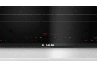 Encimera - Bosch PXY675DC1E, Vitrocerámica, Eléctrica, Inducción, 2 zonas, 23 cm, Negro