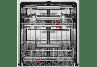 Lavavajillas - AEG FFB63700PM, 15 servicios, 3ª bandeja, Desconexión automática, 7 programas, Inox