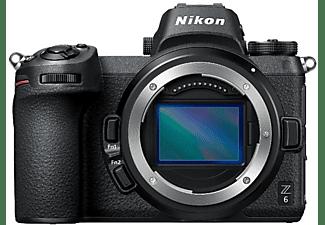 Cámara EVIL - Nikon Z6, 24.5 MP, ISO 100 - 51200, 12 fps, 4K, Wi-Fi 5 GHz + NIKKOR Z 24-70 mm f/4 S