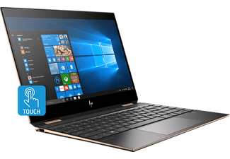 HP Spectre X360 13-ap0303ng, Convertible mit 13,3 Zoll Display, Core™ i5 Prozessor, 8 GB RAM, 512 GB SSD, Intel® UHD-Grafik 620, Dark Ash Silver