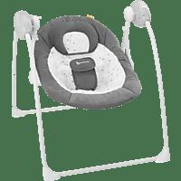 BADABULLE B012304 Komfort Babyschaukel Dunkelgrau/Weiß