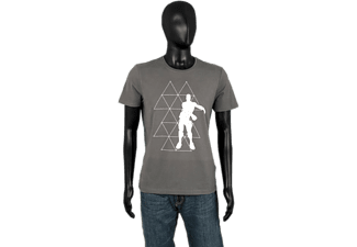 MUSTERBRAND Fortnite Floss - T-Shirt (Gris)