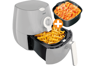PHILIPS Heißluftfritteuse HD9218/25 Airfryer Daily Collection beige inkl. Backform HD9925/00