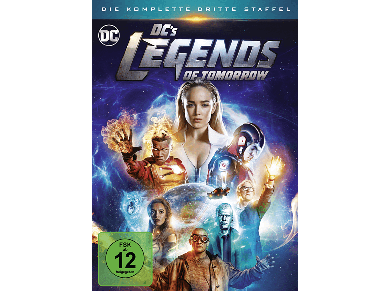DC's Legends Of Tomorrow, Staffel 3 [DVD]