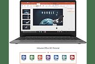 TREKSTOR PRIMEBOOK U13B-PO / Volks-Notebook, Notebook mit 13.3 Zoll Display, Pentium® Silver Prozessor, 4 GB RAM, 64 GB Interner Speicher, Intel® UHD-Grafik 605, Dunkelgrau