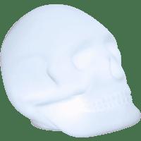BIGBEN Lumin'us Skull Lautsprecher, Weiß