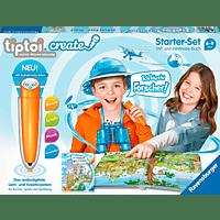 RAVENSBURGER tiptoi® CREATE Starter-Set Stift und Weltreise-Buch Spielzeug