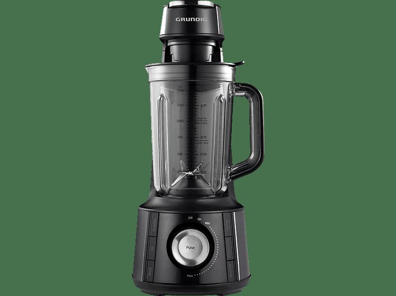 GRUNDIG VB 8760 Standmixer Schwarz (1000 Watt, 1.7 Liter; 0.7 l)
