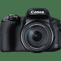 CANON Powershot SX 70 HS EU26 Bridgekamera Schwarz, 20.3 Megapixel, 65fach opt. Zoom, LCD, WLAN
