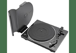 Tocadiscos - Denon DP-400, 65 dB, Brazo en forma de S, Selector de velocidad, Cápsula MM