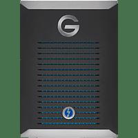 G-TECHNOLOGY G-DRIVE™, 500 GB SSD, 2.5 Zoll, extern, Schwarz