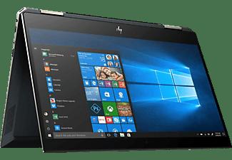 HP Spectre X360 13-ap0312ng, Convertible mit 13,3 Zoll Display, Core™ i7 Prozessor, 16 GB RAM, 512 GB SSD, Intel® UHD-Grafik 620, Poseidon Blue