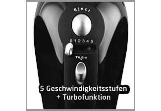 KOENIC KHM 3210 B Handmixer Schwarz (450 Watt)