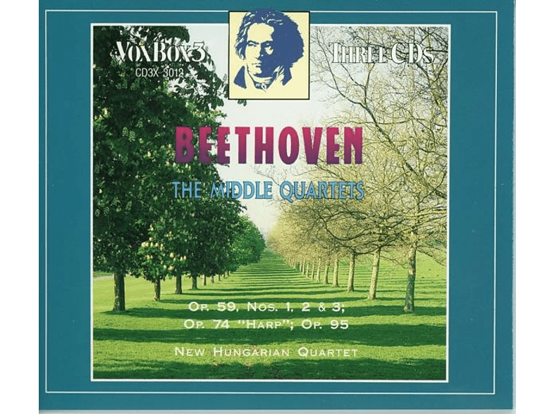 New Hungarian Quartet - Streichquartette 7-11 [CD]