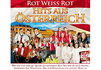 VARIOUS - Hits Aus Osterreich - Rot Weib Rot  - (CD)