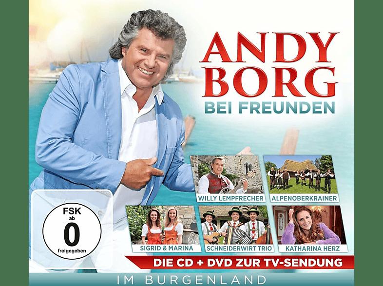 VARIOUS - ANDY BORG BEI FREUNDEN IM BURGENLAN [CD + DVD Video]