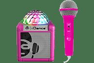 IDANCE Sing Cube 100 Party Lautsprecher, Pink