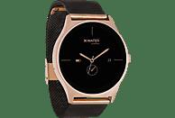 XLYNE X-WATCH JOLI XW PRO (54030) Smartwatch / Fitnesstracker je nach Profil Metall, 265 mm, Gehäuse: Roségold/Armband: Diamantschwarz
