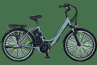 PROPHETE GENIESSER e9.6 Citybike (26 Zoll, Wave, 396 Wh, Silber)