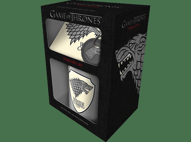 EMPIRE Game of Thrones - Stark - Geschenk-Set Geschenkbox, Mehrfarbig