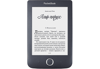 POCKETBOOK eBook Reader Basic 3, schwarz (PB614W2EWW)