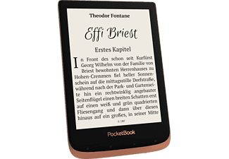 POCKETBOOK eBook Reader Touch HD 3, spicy copper (PB632KWW)