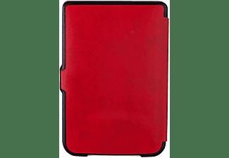 POCKETBOOK Schutzhülle Shell für Pocketbook eBook Reader, rot/schwarz (JPB626(2)RBP)