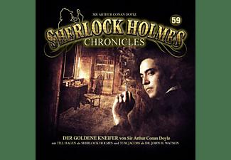 Sherlock Holmes Chronicles - Der goldene Kneifer Folge 59  - (CD)