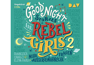 Good Night Stories for Rebel Girls-Teil 2: Mehr - 3 CD - Biographien/Porträt