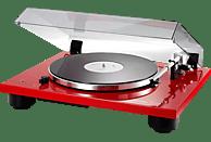 THORENS TD 206 Plattenspieler Hochglanz Rot