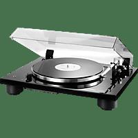 THORENS TD 206 Plattenspieler (Hochglanz Schwarz)