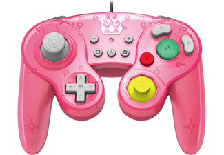 HORI NSW Peach - Manette USB style GameCube (Rose)