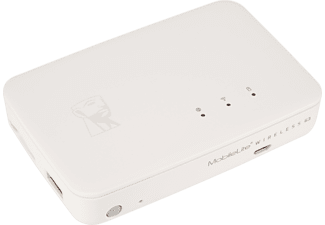 KINGSTON MobileLite Wireless G3 W-LAN-Backup für Smartphones  Kartenlesegerät für mobiles Backup 100 Mbit/s