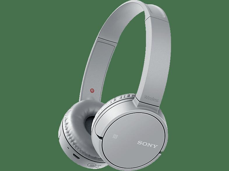 SONY WH-CH500, On-ear Kopfhörer Bluetooth Grau