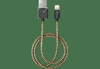 IDEAL OF SWEDEN Port Laurent Marble, 1 m, Gold/Schwarz