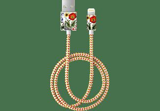 IDEAL OF SWEDEN Flower Meadow, Ladekabel, 1 m, Weiß/Rot/Gelb
