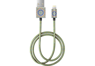 IDEAL OF SWEDEN Moroccan Zellige, 1 m, Gold/Grün/Blau