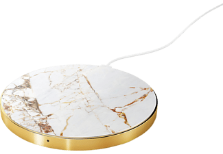 IDEAL OF SWEDEN Carrara Gold Marble induktive ladestation, Weiß/Gold