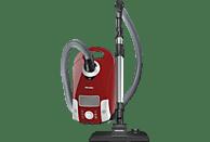 MIELE Compact C1 EcoLine - SCAP3 (Mit Beutel, AirClean Filter, Motorschutzfilter, Mangorot)