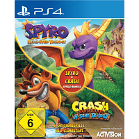 Spyro + Crash Remastered Spiele-Bundle - [PlayStation 4]