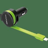 REALPOWER car charger cable L KFZ-Ladegerät, Schwarz/Grün