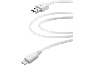 CELLULAR LINE Home XL - Cavo dati USB-lightning (Bianco)
