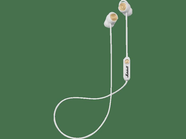 MARSHALL Minor II, In-ear Kopfhörer Bluetooth Weiß