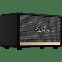 MARSHALL Acton II Voice Alexa Lautsprecher App-steuerbar, Bluetooth, Schwarz