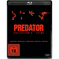 Predator Collection 1-4: Predator, Predator 2, Predators, Predator - Upgrade [Blu-ray]