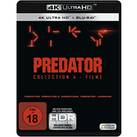 Predator Collection 1-4: Predator, Predator 2, Predators, Predator - Upgrade [4K Ultra HD Blu-ray + Blu-ray]