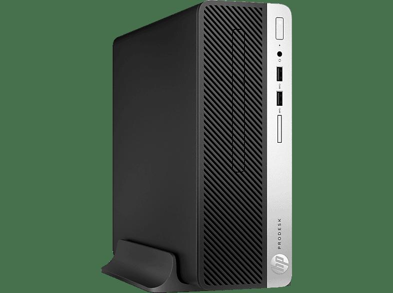 HP - B2B ProDesk 400 G5, Desktop PC, Core™ i5 Prozessor, 8 GB RAM, 256 GB SSD, Intel® UHD-Grafik 630, Schwarz/Silber