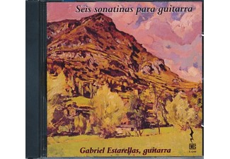 Gabriel Estarellas - 6 Sonatinas For Guitar - (CD)